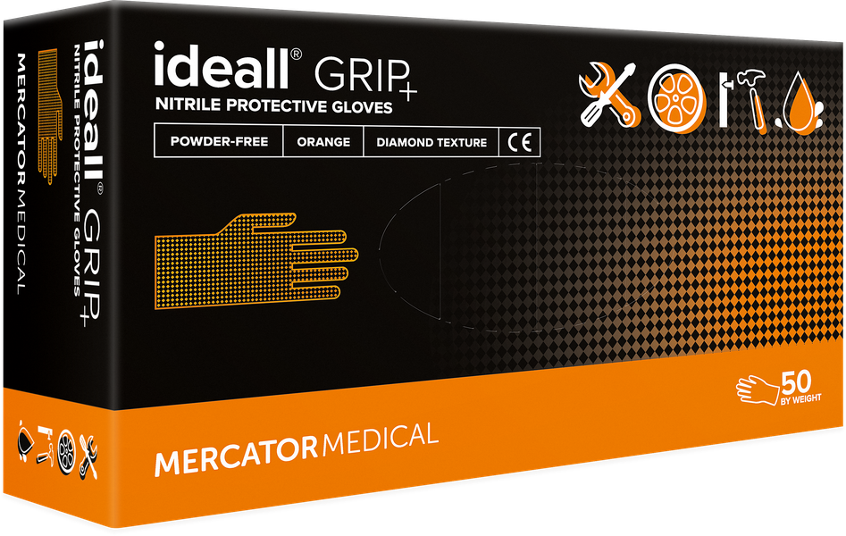 ideall® grip+ orange